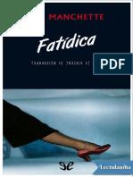 Fatidica - JeanPatrick Manchette