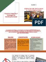Espacios de Dialogo y Concertacion