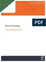 Abrasive Blasting Cop 2013