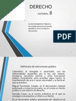 Presentacion de Derecho Notarial II