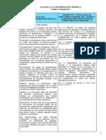 Cuadro Comparativo Ley Acceso a La Informacion Publica