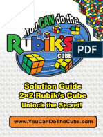 Rubiks 2x2 Solution Guide