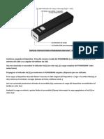 Manual Instrucciones Powerbank