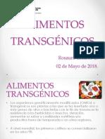 Alimentos Transgenicos 02-05-2018