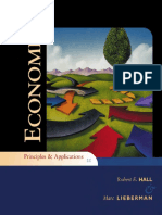 Principles and applications of economics