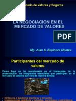 Tema 6 - Negociacion en El Mercado de Valores