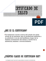 El certificado de salud.pptx