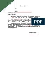 Letter of Demand.doc