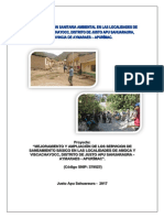 Plan de Educación Sanitaria Ambiental