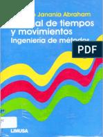 Manual de Tiempos y Movimientos Ingeniería de Métodos - Camilo Janania Abraham.pdf