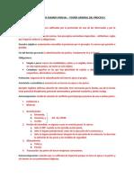 Guía – Primer Examen Parcial – Teoría General Del Proceso I