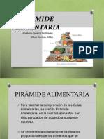 Piramide Alimentaria 25-04-2018