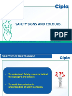 Safety Signs and Colours