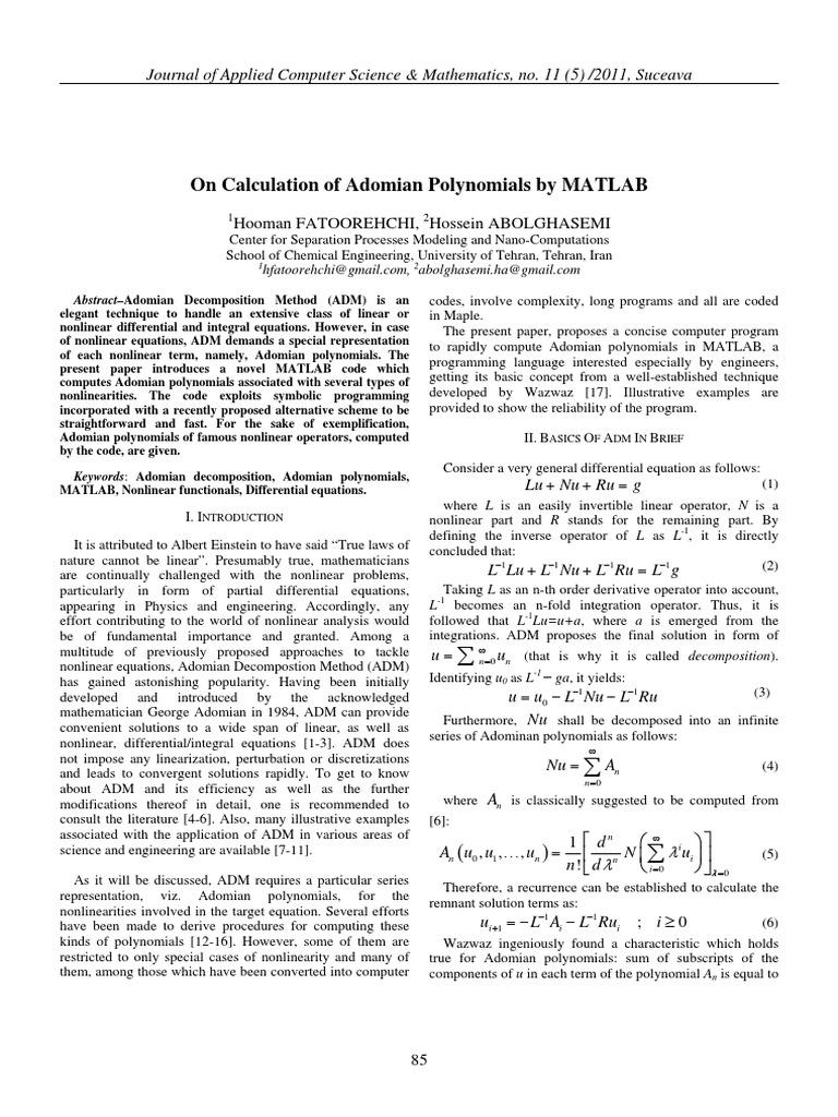 Matlab Pde Modeler Example