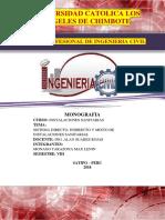 Sistema Directo, Indirecto y Mixto de Instalaciones Sanitarias.