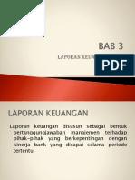BAB 3 Laporan Keuangan Bank