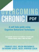 Overcoming Chronic Pain A Self-Help Guide