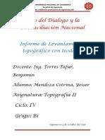 Informe- teodolito