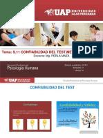 s.11 Confiabilidad Del Test