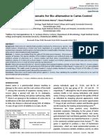 Enterocins Symptomatic for Bio Alternative in Caries Control