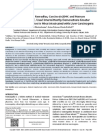 Carcinosin200C Sulphuricum200C Intermittently Demonstrate Greater Ameliorative Mice Intoxicated Liver Carcinogens
