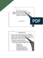 Manajemen Proyek Manajemen Proyek CPM CP
