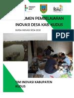 Dokumen Pembelajaran Inovasi Desa Kabupaten Kudus 2018 - Komplit