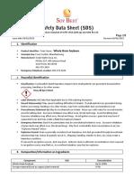 Safety Data Sheet-Whole Grain Soybean