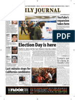 San Mateo Daily Journal 11-06-18 Edition