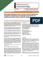 Pancreatitis meta-análisis