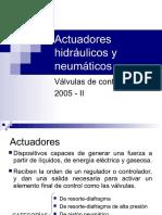 Valvulas de Control de Caudal 2005 II