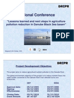 Lessons Learned and Next Steps in Agriculture Pollution Reduction in Danube Black Sea Basen