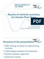 Results of Nutrients Scenarios the Danube River Basin