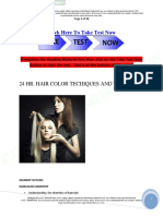 24 Hair Color Techniques and Tips Internet Main