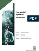 523078 IVR Testing