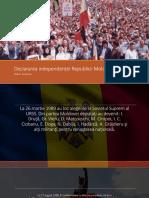 Declararea independenței Republicii Moldova