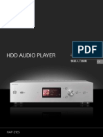 High-Resolution Audio HDD Player SONY