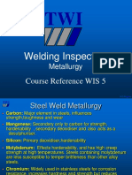 Welding Inspection Metallurgy