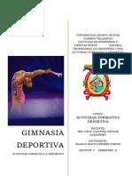 Gimnasia Deportiva (Blanco Mayta Deyber j.)