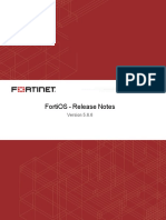 Fortios v5.6.6 Release Notes