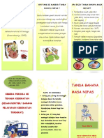 Leaflet Tanda Bahaya Masa Nifas Fix