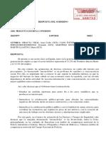 Resposta del govern espanyol sobre les accions d'Arran contra el turisme.