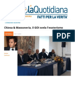 Chiesa Massoneria, Il GOI Svela l'esoterismo