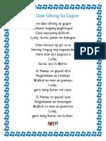 Bicol Songs