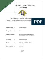 DETERMINACION DE RELACIONES VOLUMETRICAS Y GRAVIMETRICAS - mecanica de suelos