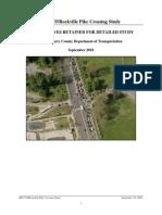 Alternatives Reitained for Detailed Study (September 2010)