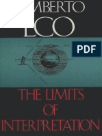 Eco, Umberto - Limits of Interpretation (Indiana, 1990).pdf