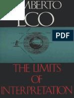 Eco, Umberto - Limits of Interpretation (Indiana, 1990).pdf