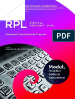 RPL - Buku Informasi - Membuat Dokumen Kode Program