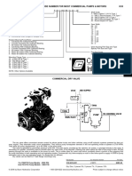 Commercial Motor Pump Build Sheet